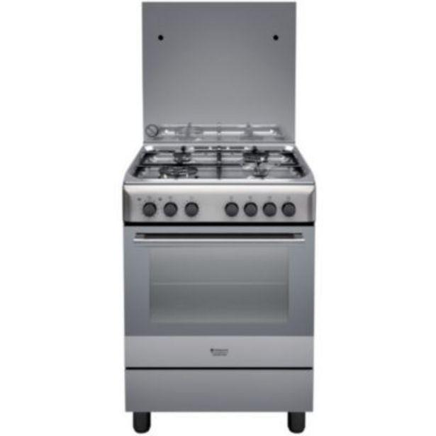 Cuisinière mixte Hotpoint H6TMH2AF(X)IT offre à 429€
