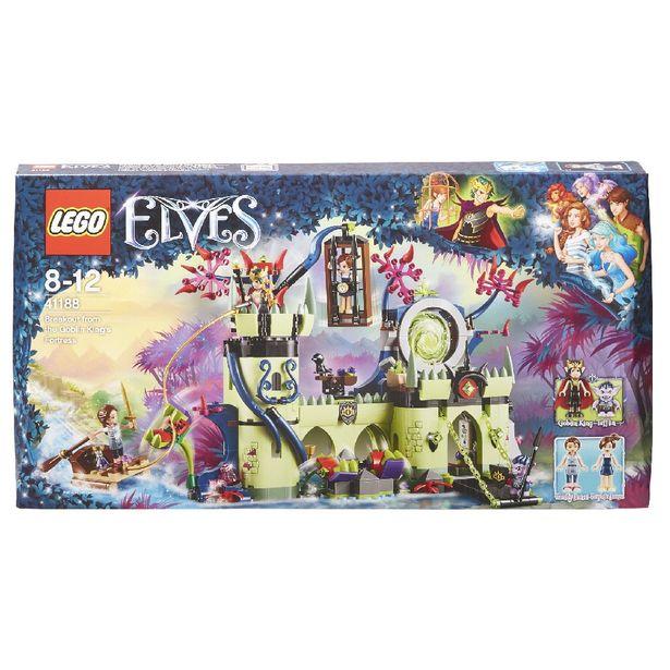 Brique Lego Elves L'évasion de la forteresse du roi gobelin offre à 75€