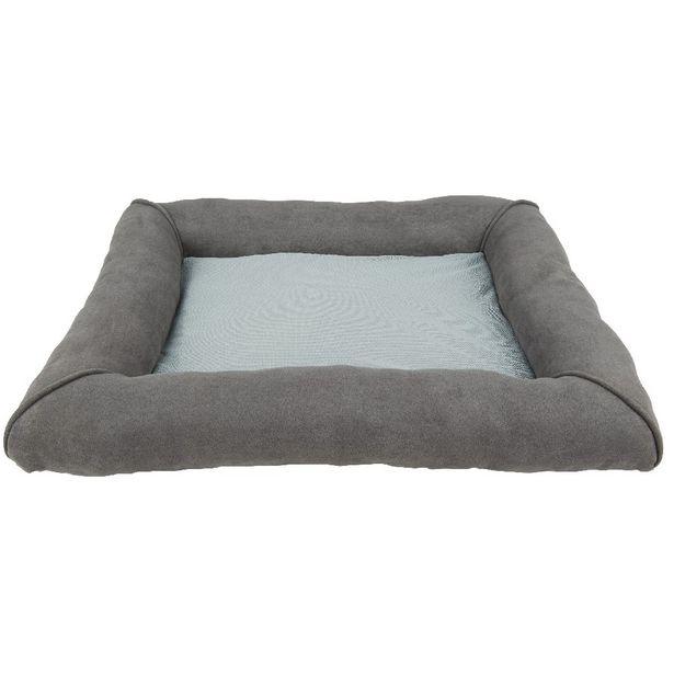 Matelas confort rafraîchissant rectangulaire gris offre à 21,08€