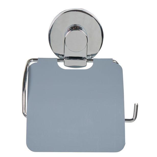 Dérouleur papier toilette à ventouse gris offre à 10€