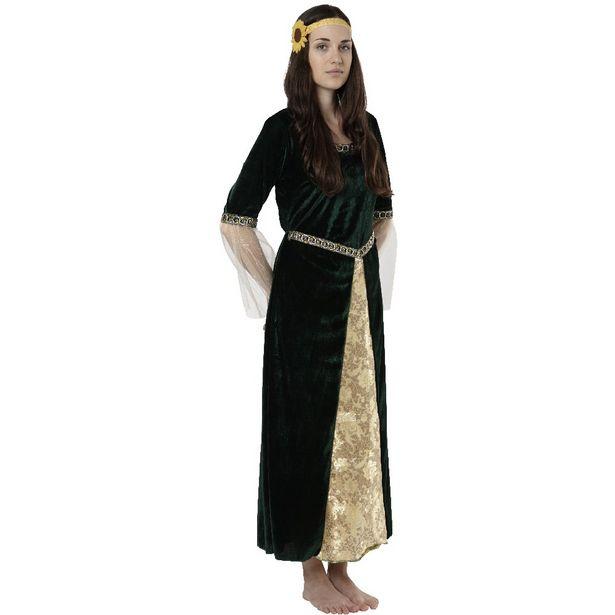 Déguisement femme médiévale offre à 39€