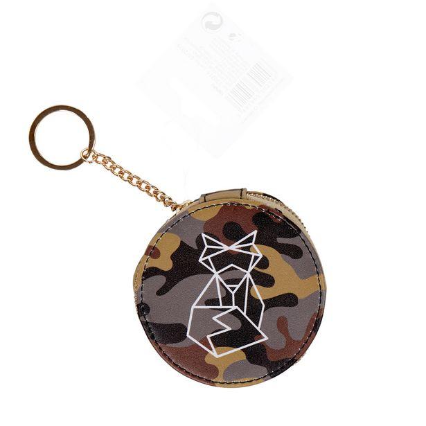 Pochette écouteur design militaire motif renard prisme offre à 6,99€