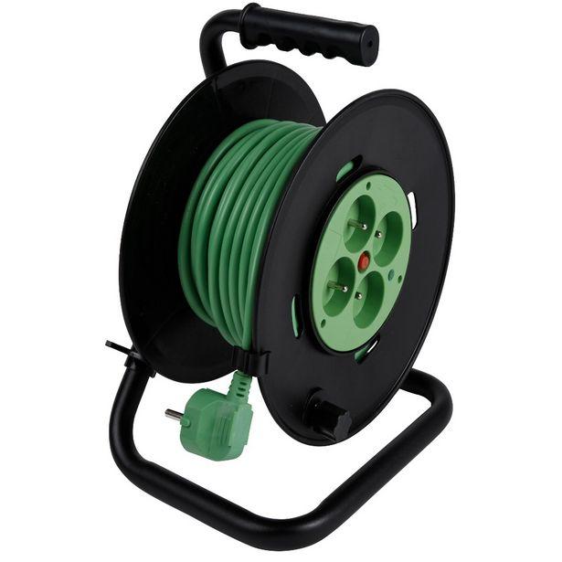 Enrouleur câble 25 m offre à 35€