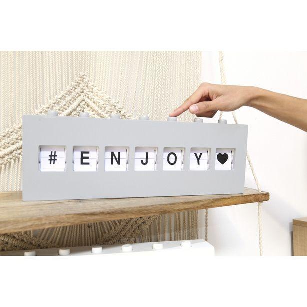 Boîte à message à boutons grise ou blanche offre à 11,2€