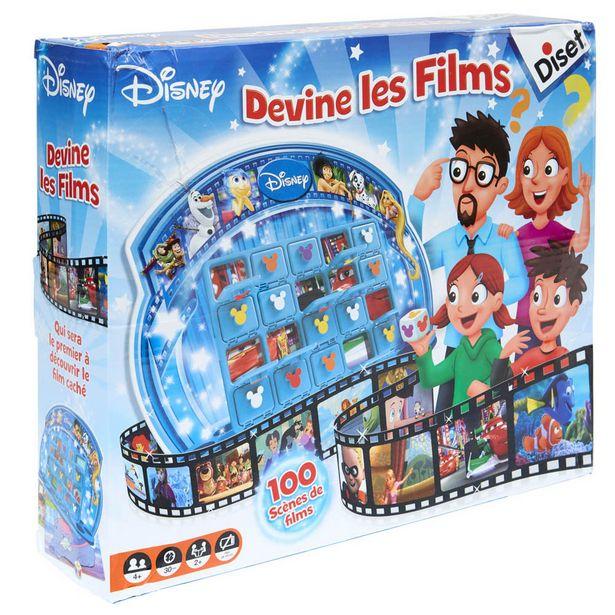 Jeu Disney Devine les films Diset offre à 34,99€