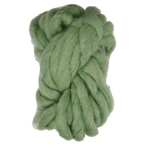 Pelote de laine 300g 15m vert offre à 11€