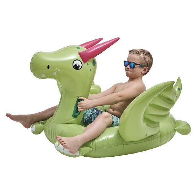 Dragon gonflable vert offre à 15,99€