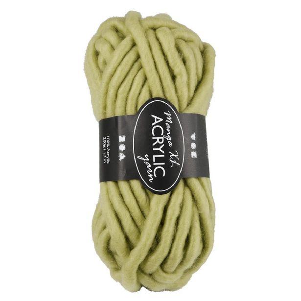 Pelote de laine 200g 17m verte offre à 8€