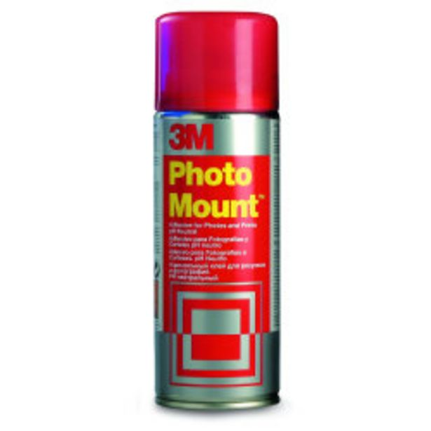 Colle en aérosol Photo Mount offre à 13,5€