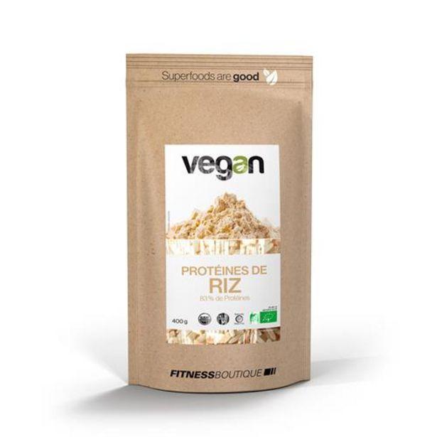 Proteines de Riz 83 % Cru et BIO offre à 11,9€