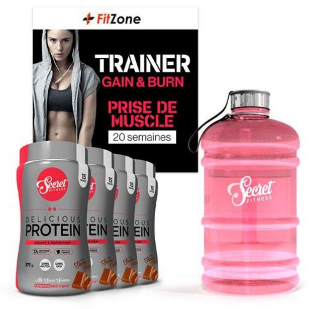 Pack Fitzone Secret Prise de Muscle Femme 20 Semaines offre à 189,5€