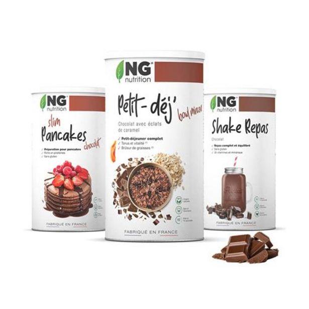 Pack spécial NG - Le Pack Minceur Chocolat offre à 48,9€