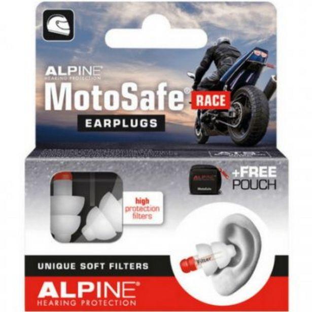 Bouchons d'oreille moto ALPINE MOTOSAFE RACE offre à 13€