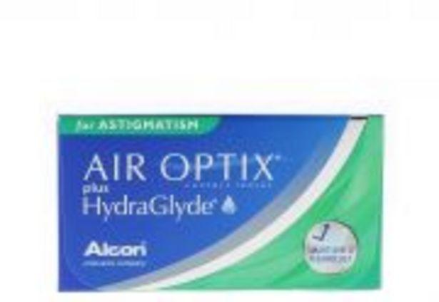 AIR OPTIX PLUS HYDRAGLYDE FOR ASTIGMATISM 3 lentilles offre à 25€