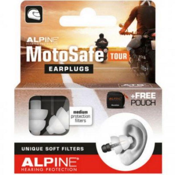 Bouchons d'oreille moto ALPINE MOTOSAFE TOUR offre à 13€