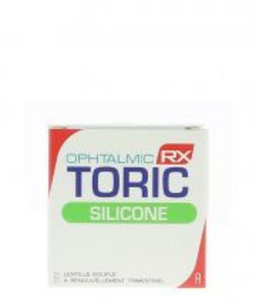 OPHTALMIC RX TORIC SILICONE offre à 110€