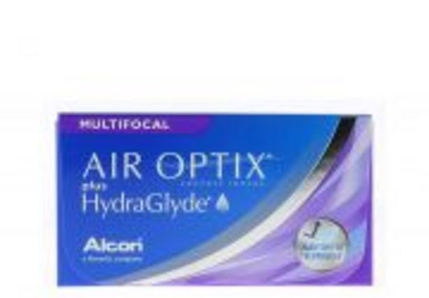 AIR OPTIX PLUS HYDRAGLYDE MULTIFOCAL 3 lentilles offre à 37€