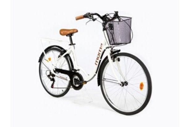 "VTT Moma bikes, vélo de ville city classic 26"", aluminium shimano 18v Moma Bikes offre à 199,99€"