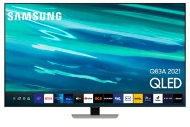 Samsung QE55Q83A QLED 2021 offre à 999€
