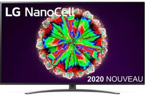 Lg 55NANO81 SMART TV offre à 599,99€