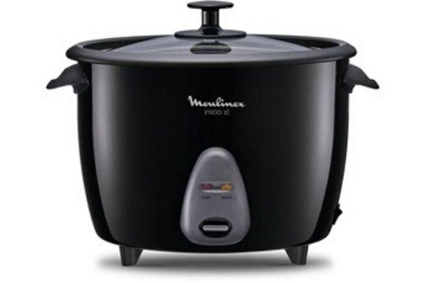 Cuiseur à riz MK158811 INICIO XL Moulinex offre à 49,99€