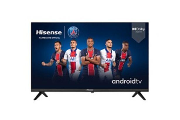 TV LED 40A5700FA ANDROID TV Hisense offre à 299,99€