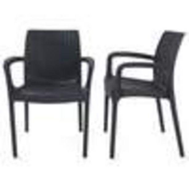 Lot de deux fauteuils BALI offre à 44,95€