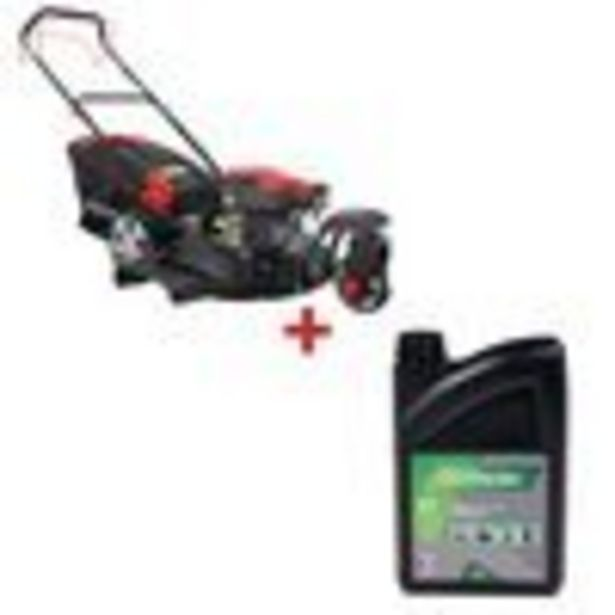 Tondeuse débroussailleuse 3 roues 48cm 144cm³ RATO RV145-S + Huile pour moteur 4 temps 2 litres offre à 288,9€