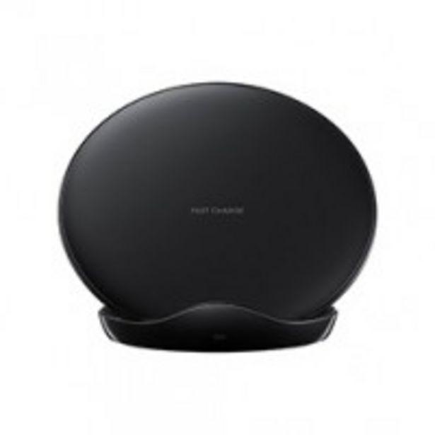 Chargeur sans fil Samsung Noir avec alimentation offre à 49,99€