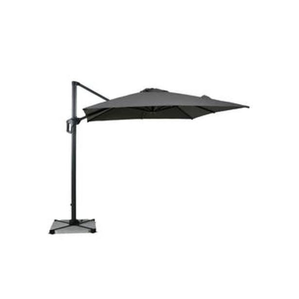 Parasol déporté rotatif gris foncé 250 cm offre à 349€
