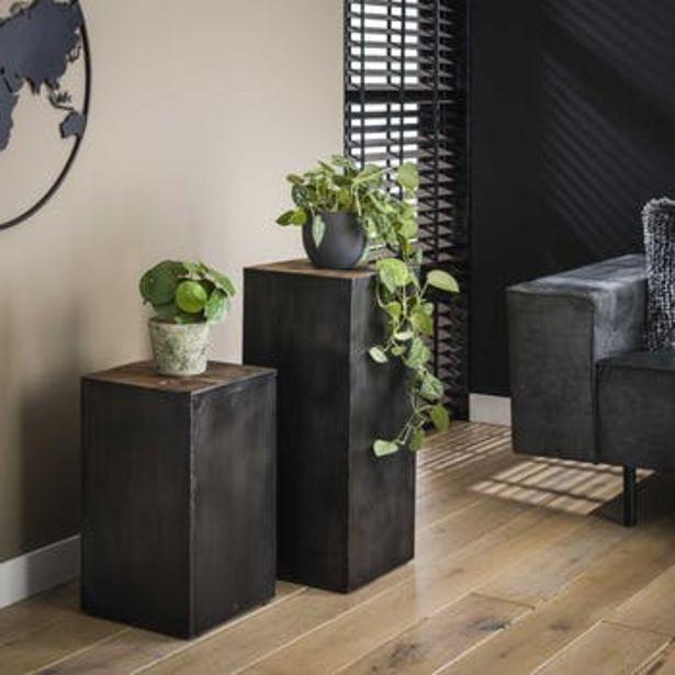 Sellette bois métal style industriel SHEFFIELD offre à 160,55€