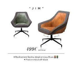 """FAUTEUIL """"JIM"""" offre à 499€"""