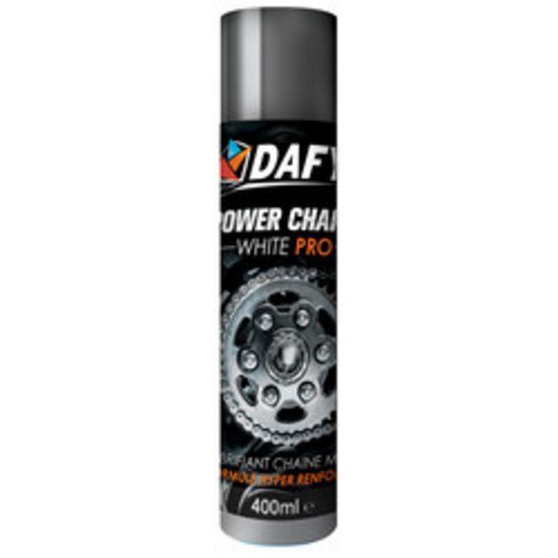 Dafy Moto - Power Chaîne White Pro 400ml offre à 12,55€