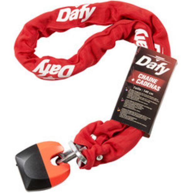 Dafy Moto - Chaîne + Cadenas 1.40 M offre à 36€