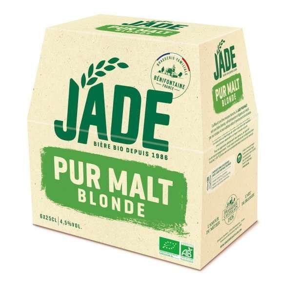 """Bière """"Jade"""" Blonde biologique offre à 4,82€"""