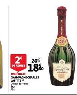Champagne charles lafitte offre à 18,5€