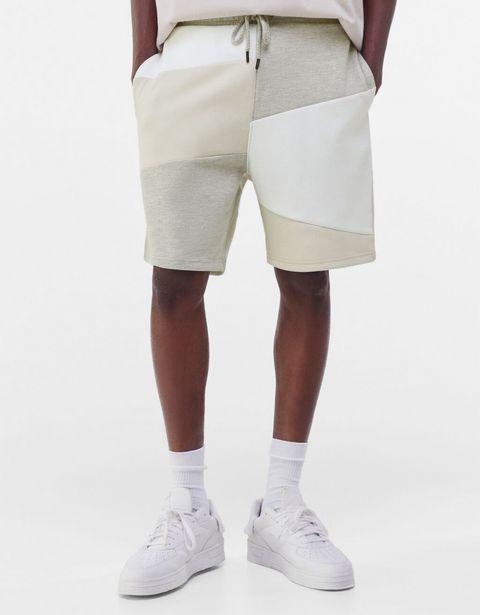 Bermuda jogger patchwork offre à 9,59€