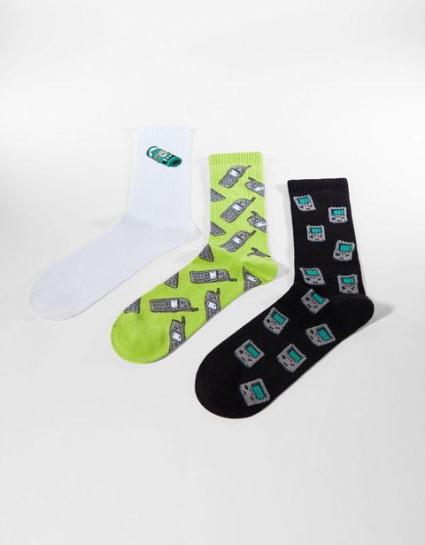 Lot de 3 paires de chaussettes invisibles offre à 5,99€