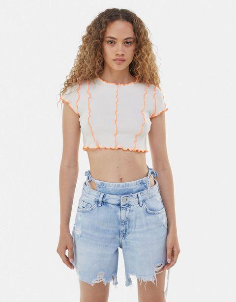 T-shirt manches courtes curly offre à 5,99€