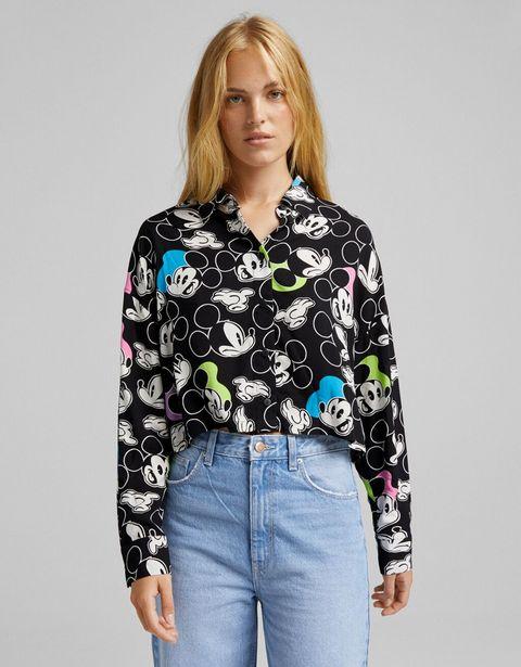 Chemise à manches longues imprimé Mickey offre à 11,99€