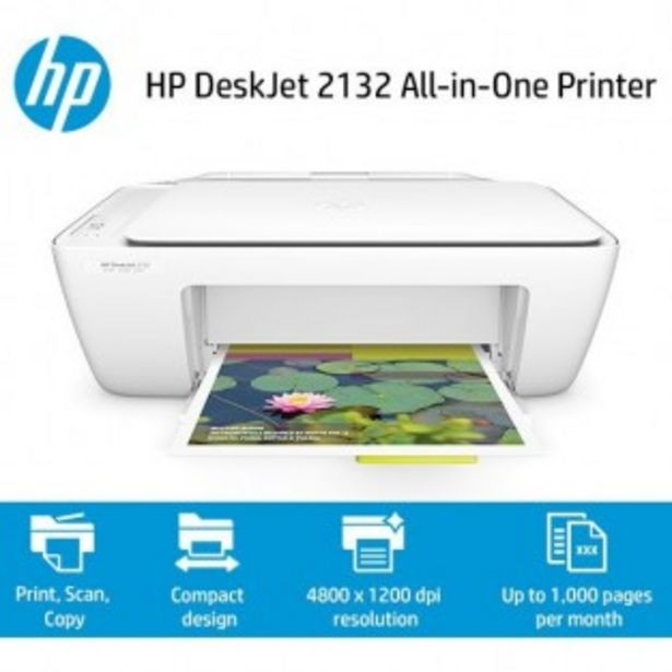 IMPRIMANTE HP DESKJET 2132 offre à 39,99€