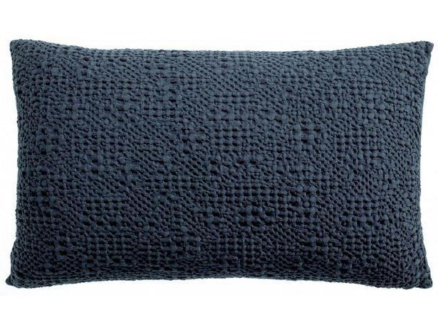 Coussin stonewashed Tana Cobalt 40 x 65 offre à 53,14€