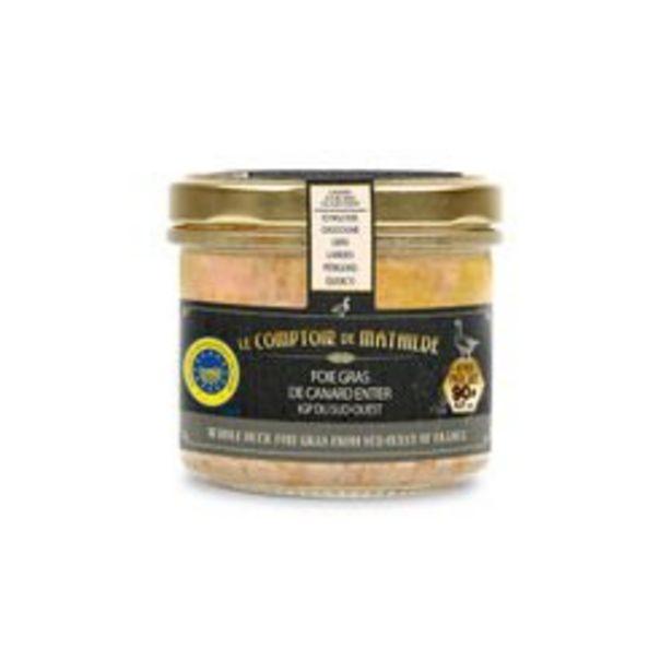 Foie gras de canard entier du Sud-Ouest IGP - 90g offre à 14,99€