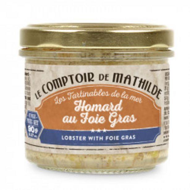 Homard au foie gras offre à 5,99€