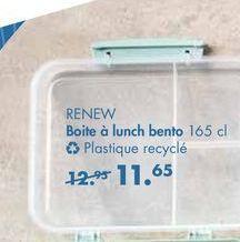 RENEW boîtes a lunch bento offre à 11,65€