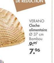VERANO Cloche alimentaire offre à 7,96€