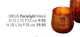 SIRIUS Partylight offre à 19,95€