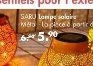 SARU lampe solaire offre à 6,95€