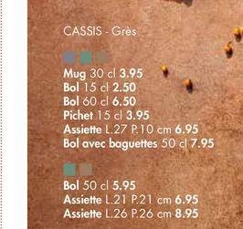 CASSIS Gres offre à 6,5€