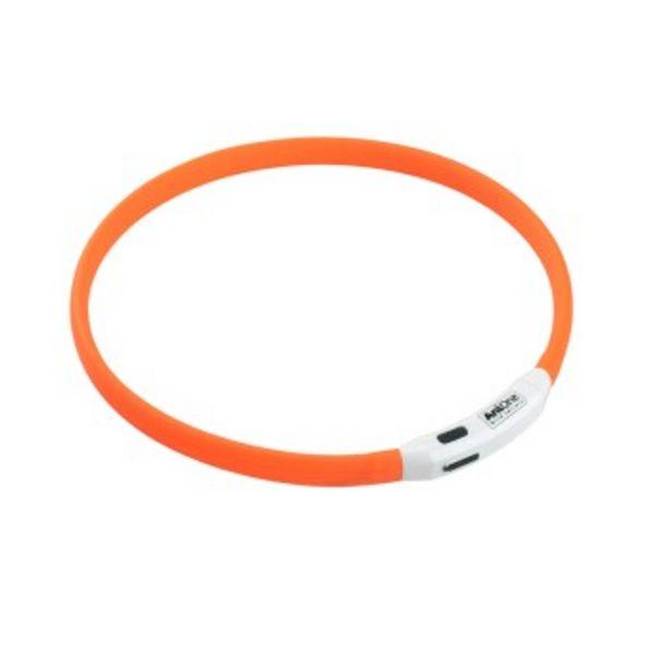 Anneau lumineux à LED en silicone orange L-XXL offre à 13,99€